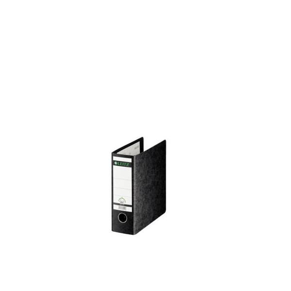 Leitz Ordner 1075 A5-hoch 77mm schwarz Recycling mit Griffloch