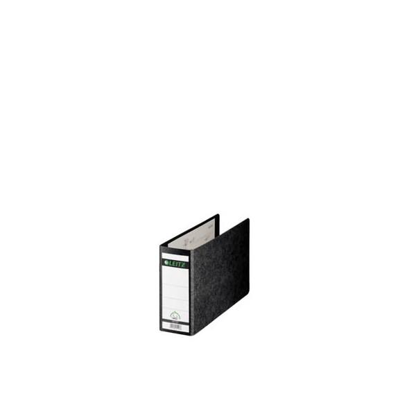 Leitz Ordner 1076 A5-quer 77mm schwarz Recycling ohne Griffloch