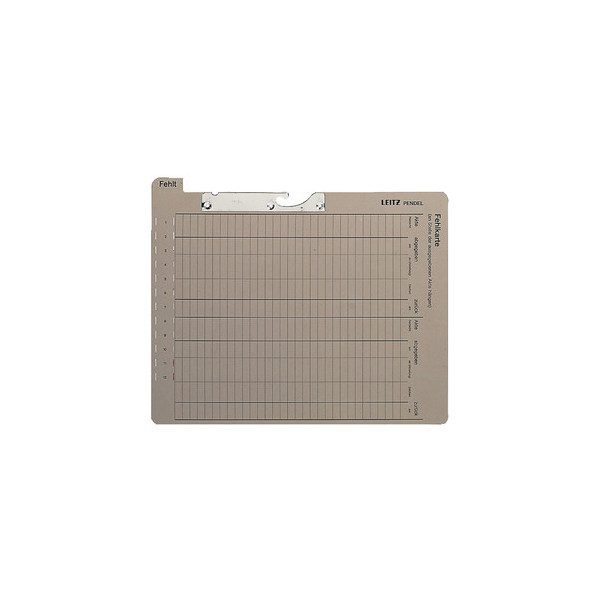 Leitz Pendel-Fehlkarte 2028 A4 450g Karton grau
