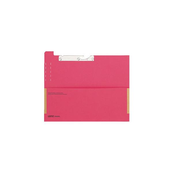 Leitz Pendel-Fehlkarte 2029 A4 320g Karton rot mit Tasche