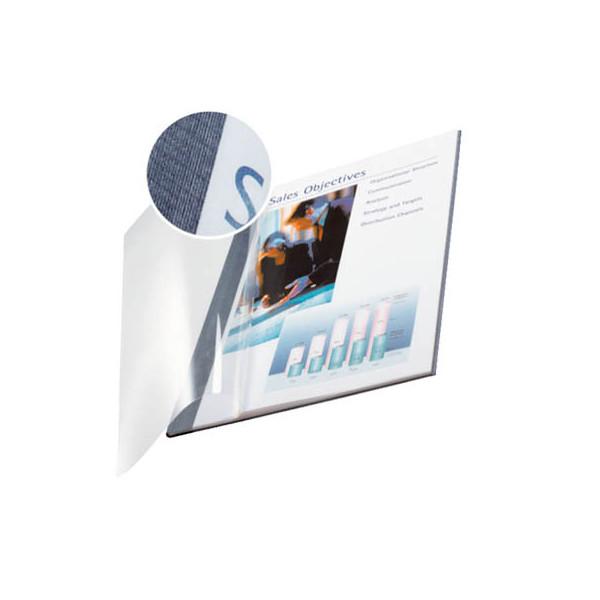 Leitz Buchbindemappen impressBind SoftCover A4 blau 3,5mm 15-35 Blatt 10 Stück