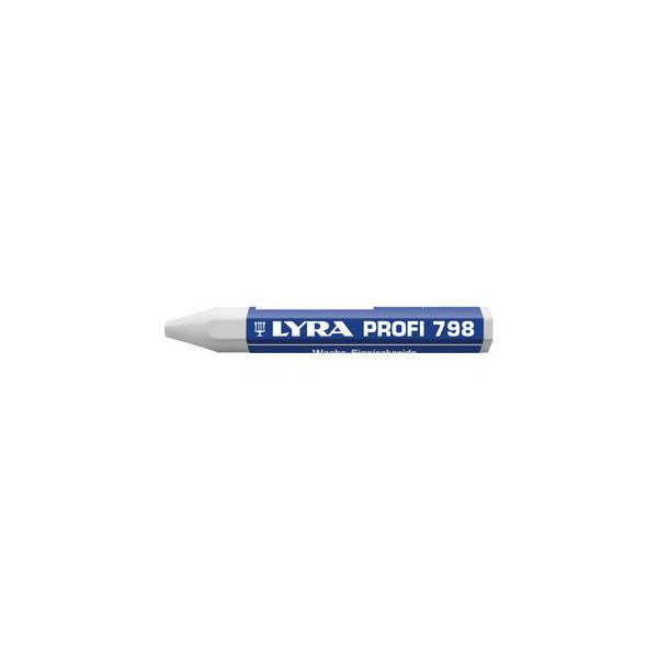 Lyra Wachssignierkreide Profi 798 weiß 95x12mm 12 St