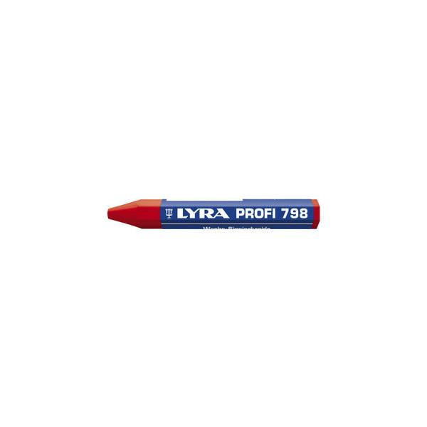 Lyra Wachssignierkreide Profi 798 rot 95x12mm 12 St