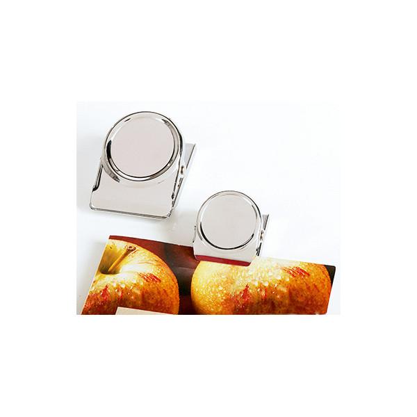 Magnetoplan Magnetclip silber 50mm
