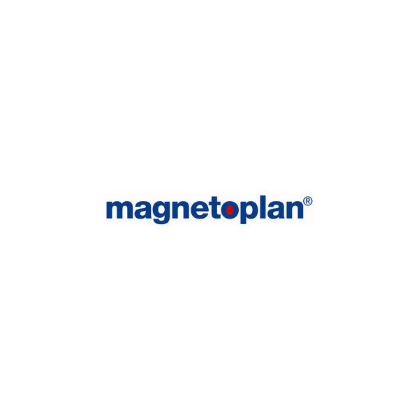 Magnetoplan Magnetclip silber 35mm 3 St