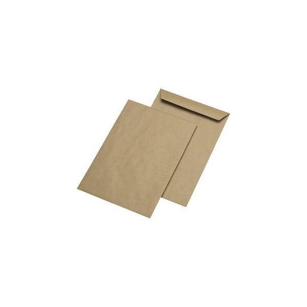 MailMedia Versandtaschen B4 ohne Fenster nassklebend 110g braun 250 Stück