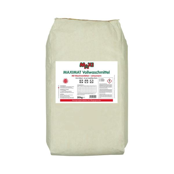 (1,45 EUR/1 kg) MAXI Vollwaschmittel Maximat Universal Pulver Sack 20 kg