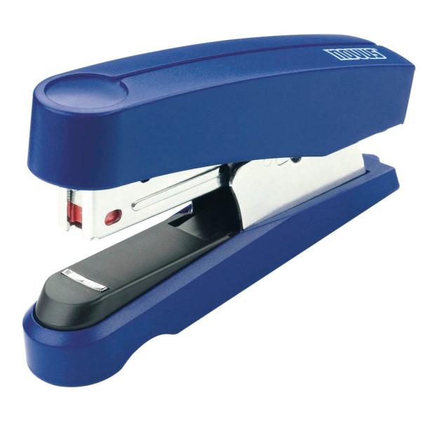 Novus Heftgerät B10F Flat-Clinch blau bis 20 Blatt für Nr 10