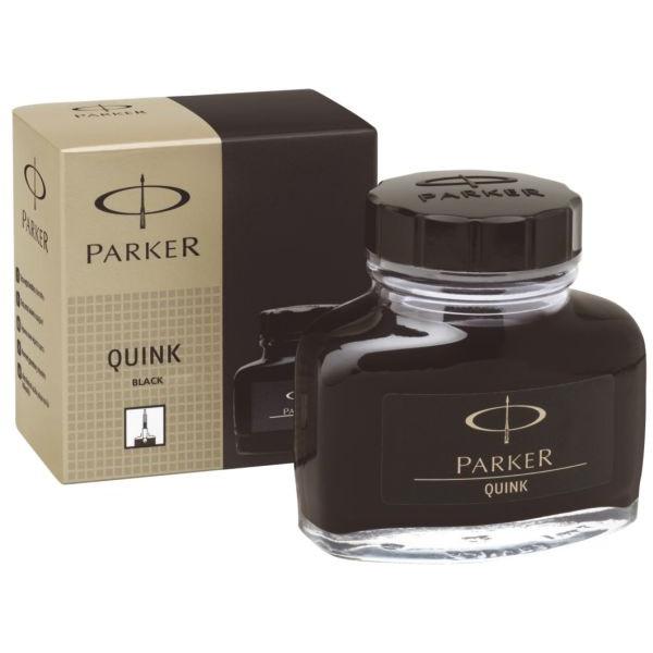 (9,61 EUR/100 ml) Parker Füllertinte Quink 1950375 schwarz 57ml im Glas