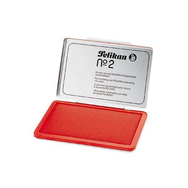 Pelikan Stempelkissen für Gummist.Gr.2 ohne Öl rot