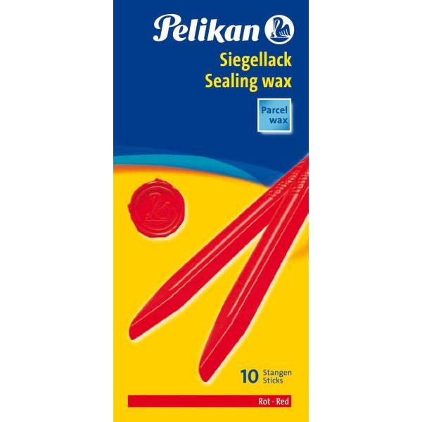 Pelikan Siegellack Packlack 60/10 rot 10 St