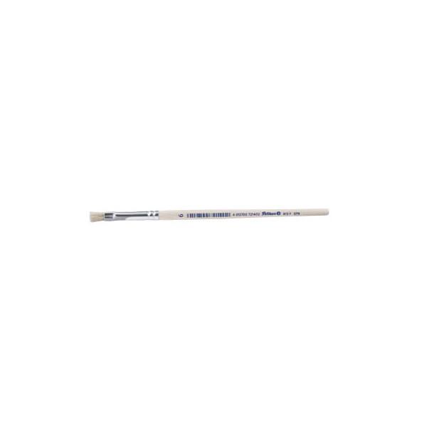 Pelikan Borstenpinsel 6 Sorte 613F Schweineborsten flach