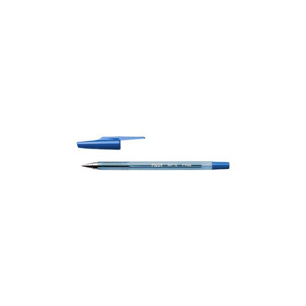 Pilot Kugelschreiber BP-S blau 0,3 mm mit Kappe