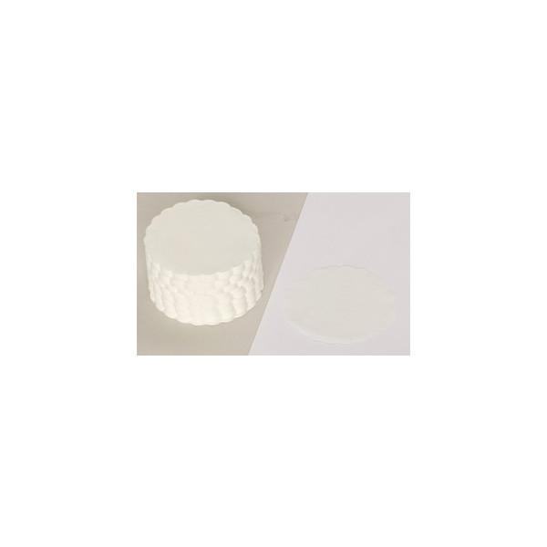 Papstar Tassendeckchen rund weiß D: 85mm 500 Stück