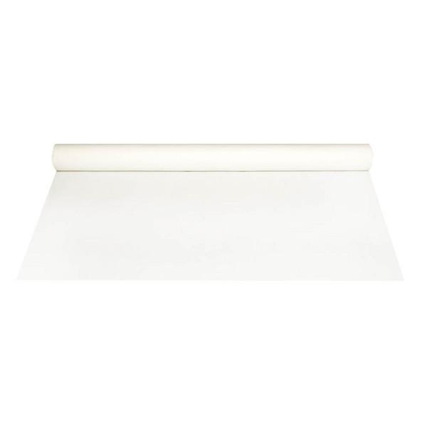 (1,63 EUR/1 m) Papstar Tischdecke Airlaid stoffähnlich weiß 1,2m x 20m