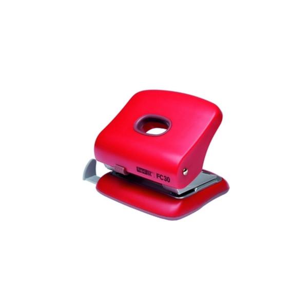 Rapid Locher FC30 rot 3mm 30 Blatt mit Anschlagschiene