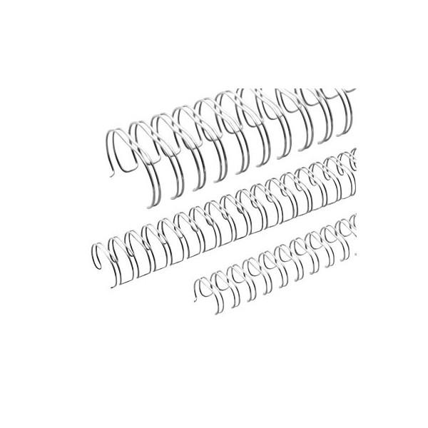 Renz Drahtbinderücken Ring Wire 311430634 silber 3:1 34 Ringe auf A4 120 Blatt 14,3mm 50 Stück