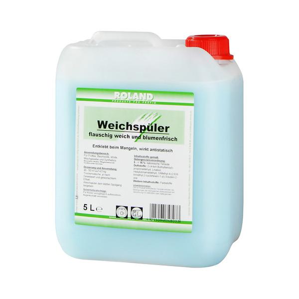(1,30 EUR/1 l) Roland Weichspüler antistatisch Kanister 5 Liter