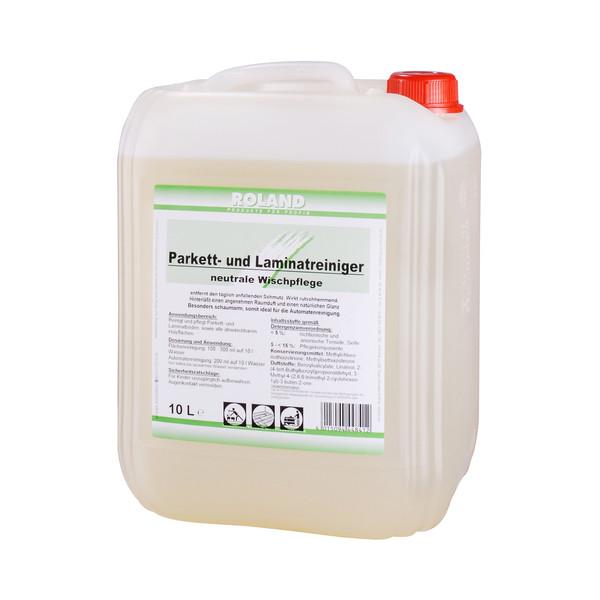 (2,96 EUR/1 l) Roland Parkett- und Laminatreiniger/Wischpflege Kanister 10 Liter
