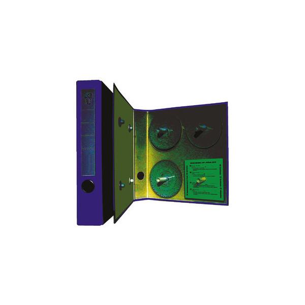 RNK Ordner für Diagrammscheiben TachoFile A4 blau