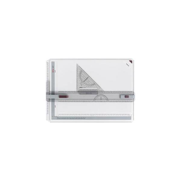 Rotring Zeichenplatte rapid A3 weiß/grau