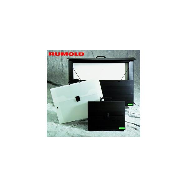 Rumold Zeichenkoffer,A2 schwarz 775x40x530 mm