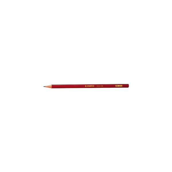 Stabilo 306 Bleistifte HB Schwan rot