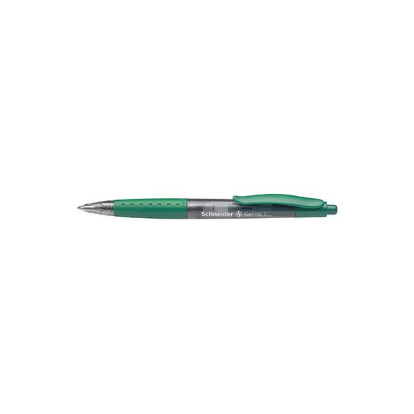Schneider Gelschreiber Gelion 1 F grün 0,4 mm