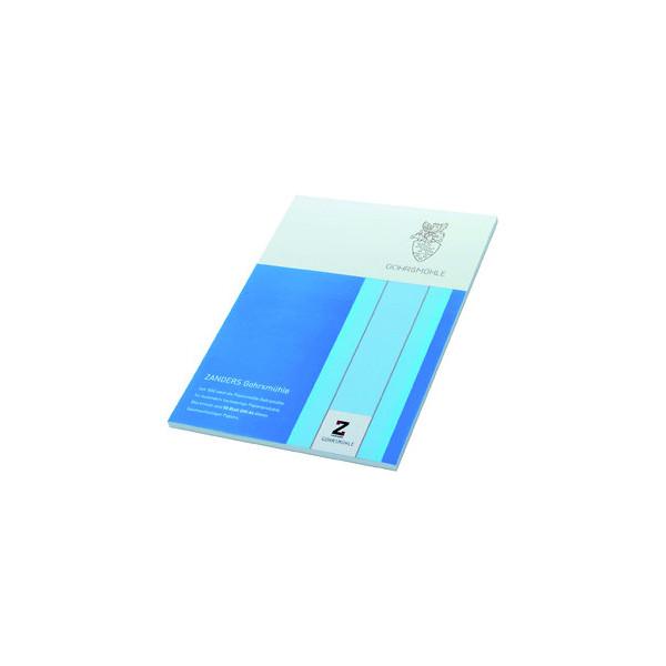 Zanders Gohrsmühle Briefpapier A4 100g weiß mit Wasserzeichen 50 Blatt