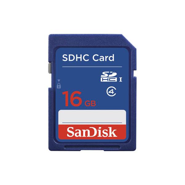 Sandisk Speicherkarte Standard SDHC Card 16GB