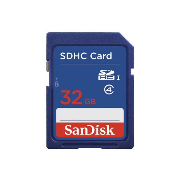 Sandisk Speicherkarte SecureDigital High Capac.Card 32 GB