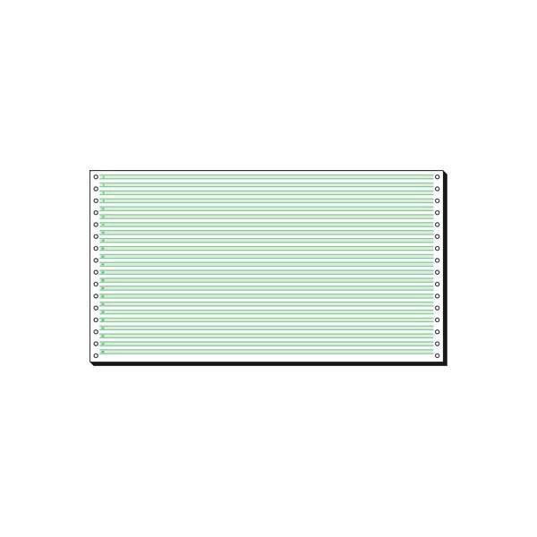 Sigel Endlospapier 08371, mit Leselinien, 1-fach, 8 Zoll x 375 mm, 2000 Blatt