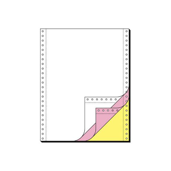 Sigel Endlospapier 32249, A4 hoch blanko, 3-fach, 12 Zoll x 240 mm, 600 Sätze