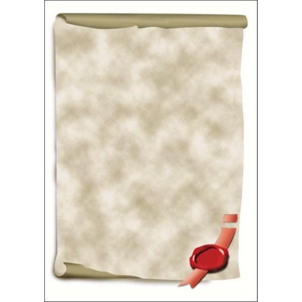 Sigel Motivpapier DP521 A4 185g Urkundenrolle 12 Blatt