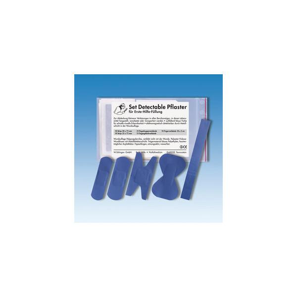 Söhngen Nachfüllset Pflaster blau detektierbar 50 Stück