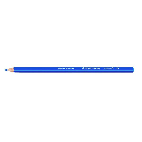 Staedtler Buntstift ergosoft kob.blau 3mm 3eckig