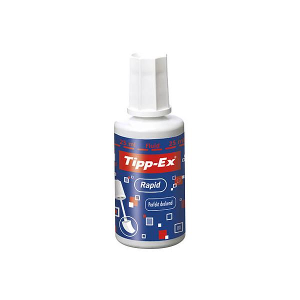(5,48 EUR/100 ml) Tipp-ex Korrekturflüssigkeit Rapid weiß 25ml 811914