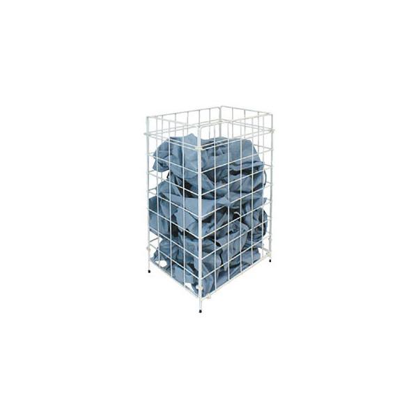 Temca Drahtgitterkorb für Papierhandtücher 120051 racon m-waste 45 Liter weiß