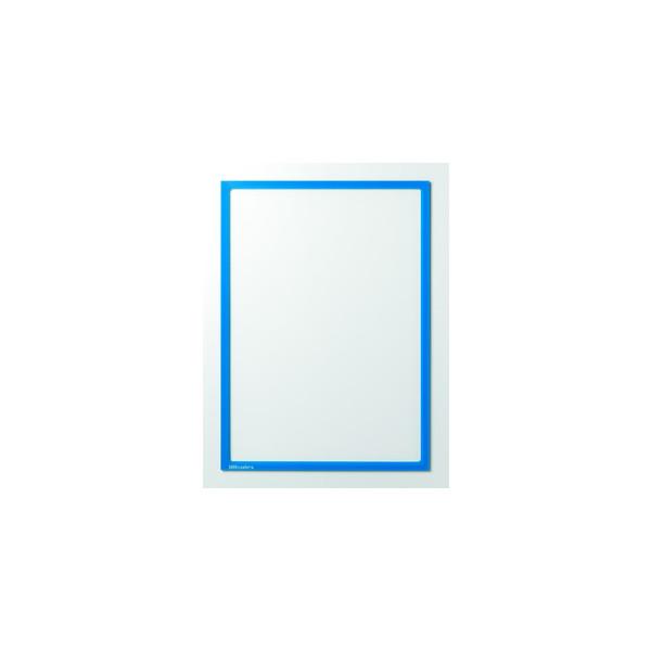 Ultradex Infotaschen magnetisch für A4 blauer Rahmen