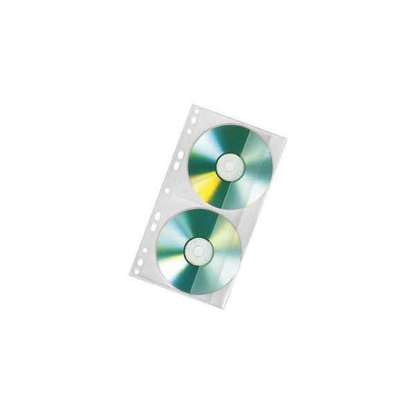 Veloflex CD/DVD Doppelhülle f. Mappe A4 100 St