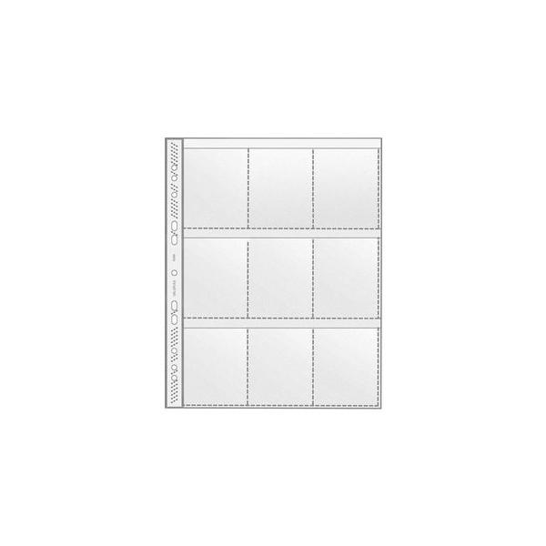 Veloflex 5349 Sammelhülle mit 9 Taschen A4 0,14mm