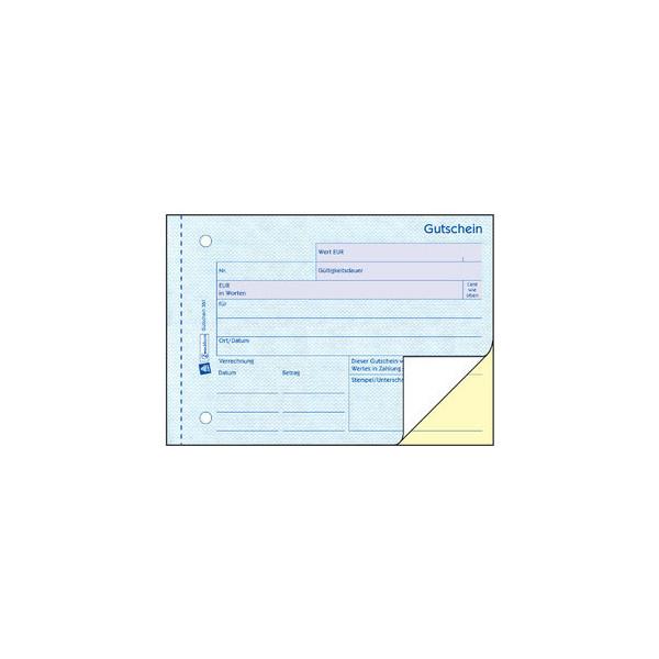 Zweckform Gutschein 361 A6 2x50 Blatt