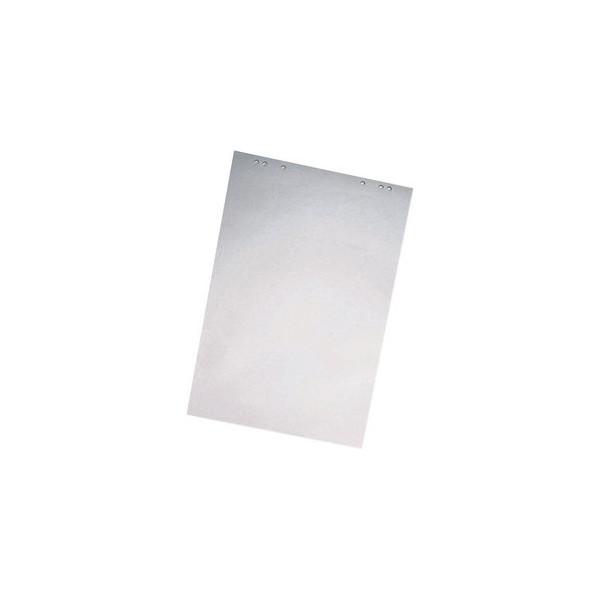 Flipchartblock blanko/blanko weiß 68 x 99cm 20 Blatt 1 Block