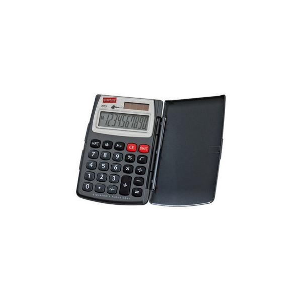 Staples Taschenrechner Standard 520 10-stellig grau