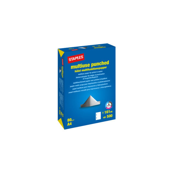 multiuse 4-fach gelocht A4 80g Kopierpapier weiss 500 Blatt