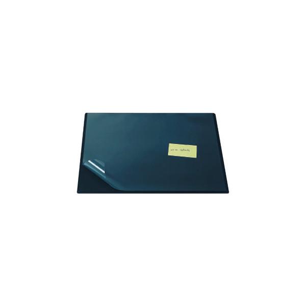 Schreibunterlage 63 x 50cm mit Sichtfolie RC blau