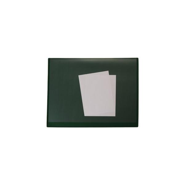 Schreibunterlage 63 x 50cm mit Sichtfolie RC grün