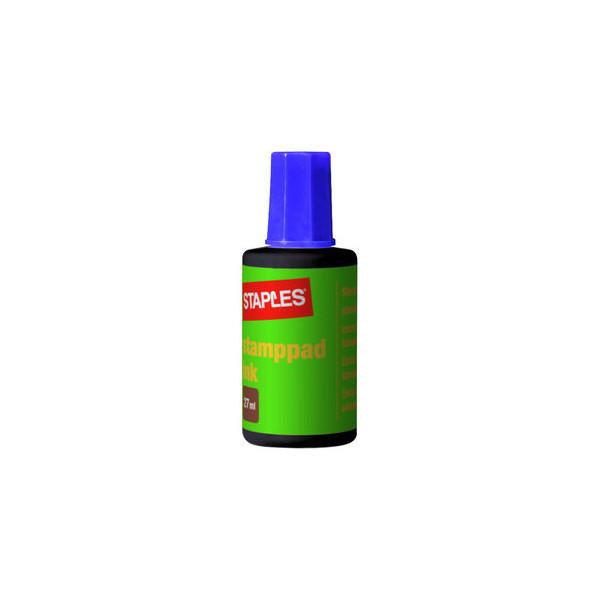 Staples Stempelfarbe 7760562 ohne Öl 27ml Flasche violett