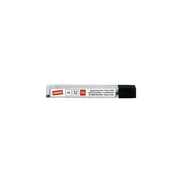 Druckbleistiftminen 0,7mm HB Polymer 12 St