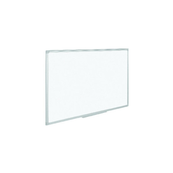 Staples Whiteboard 90 x 60cm lackiert Aluminiumrahmen